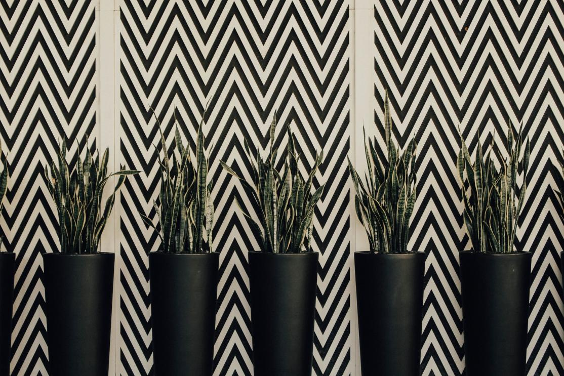 Chevron Wall Pattern