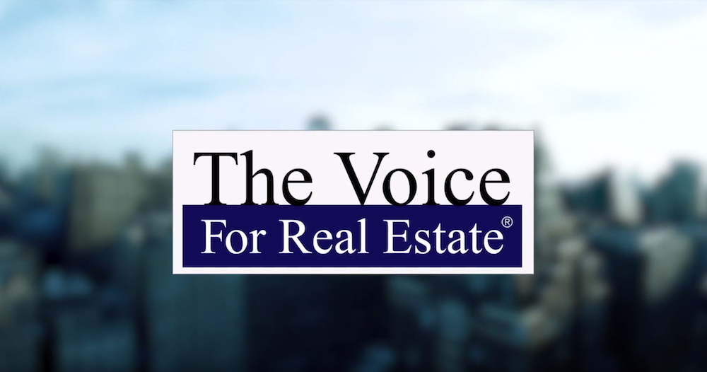 screenshot of the voice for real estate series