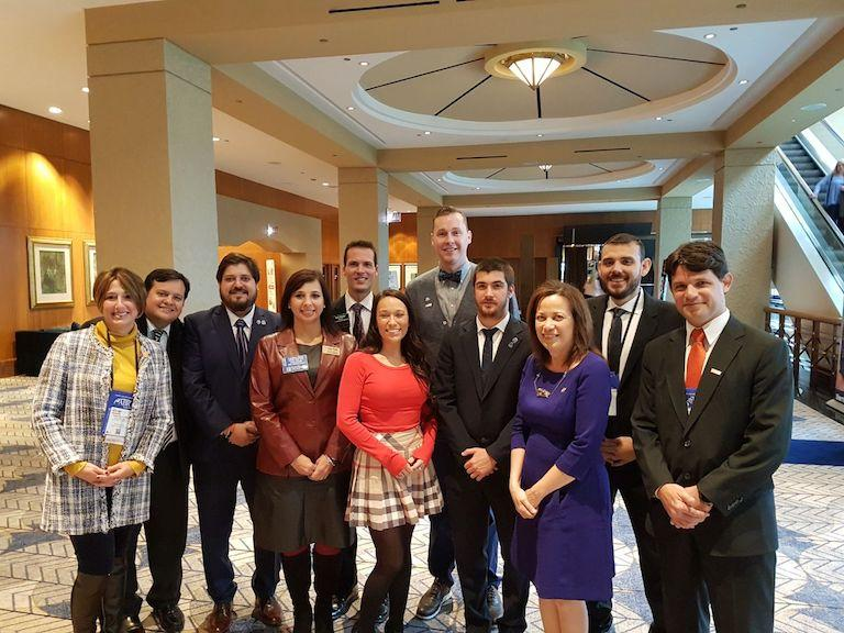 The Argentinean Young Professionals delegation met with members of the 2017 NAR YPN Advisory Board in Chicago