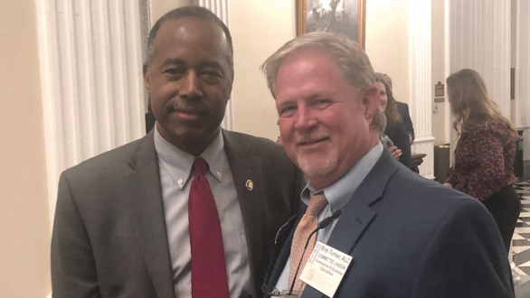HUD Secretary Ben Carson and REALTOR® Bob Turner