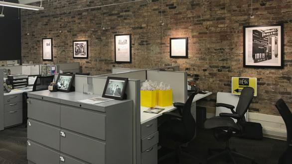Baird & Warner office space