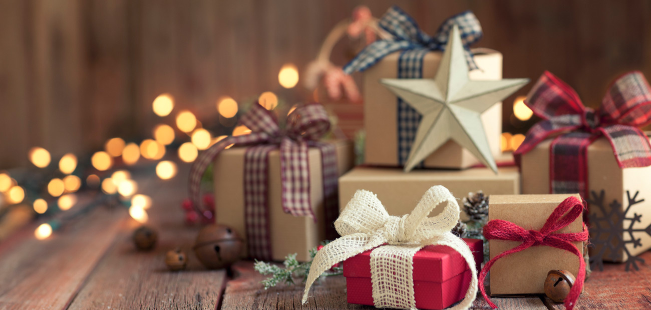 packaged gifts