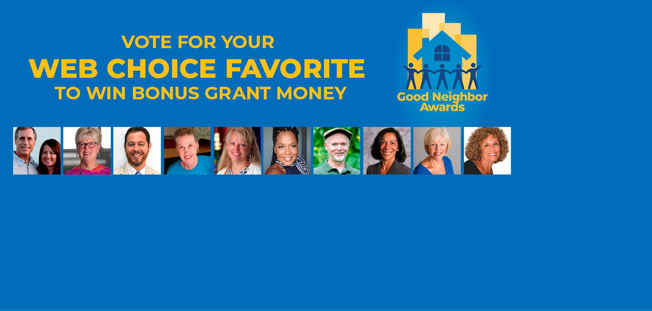 2020 Good Neighbor Award Finalist Vote Now