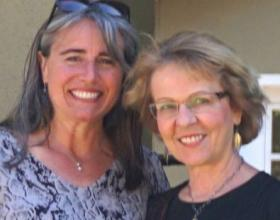 Agent Mary Molinari, left, helped her client find a happy ending in a difficult home search process.