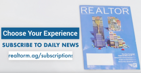 subscribe to the realtor magazine daily news